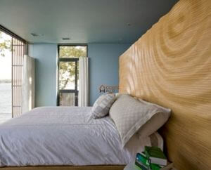 3d wave wall bedroom