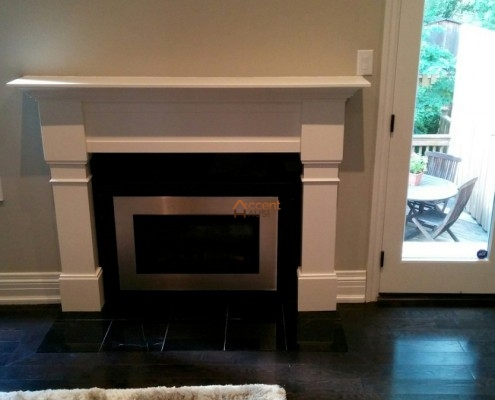 Living Room Fireplace Mantel