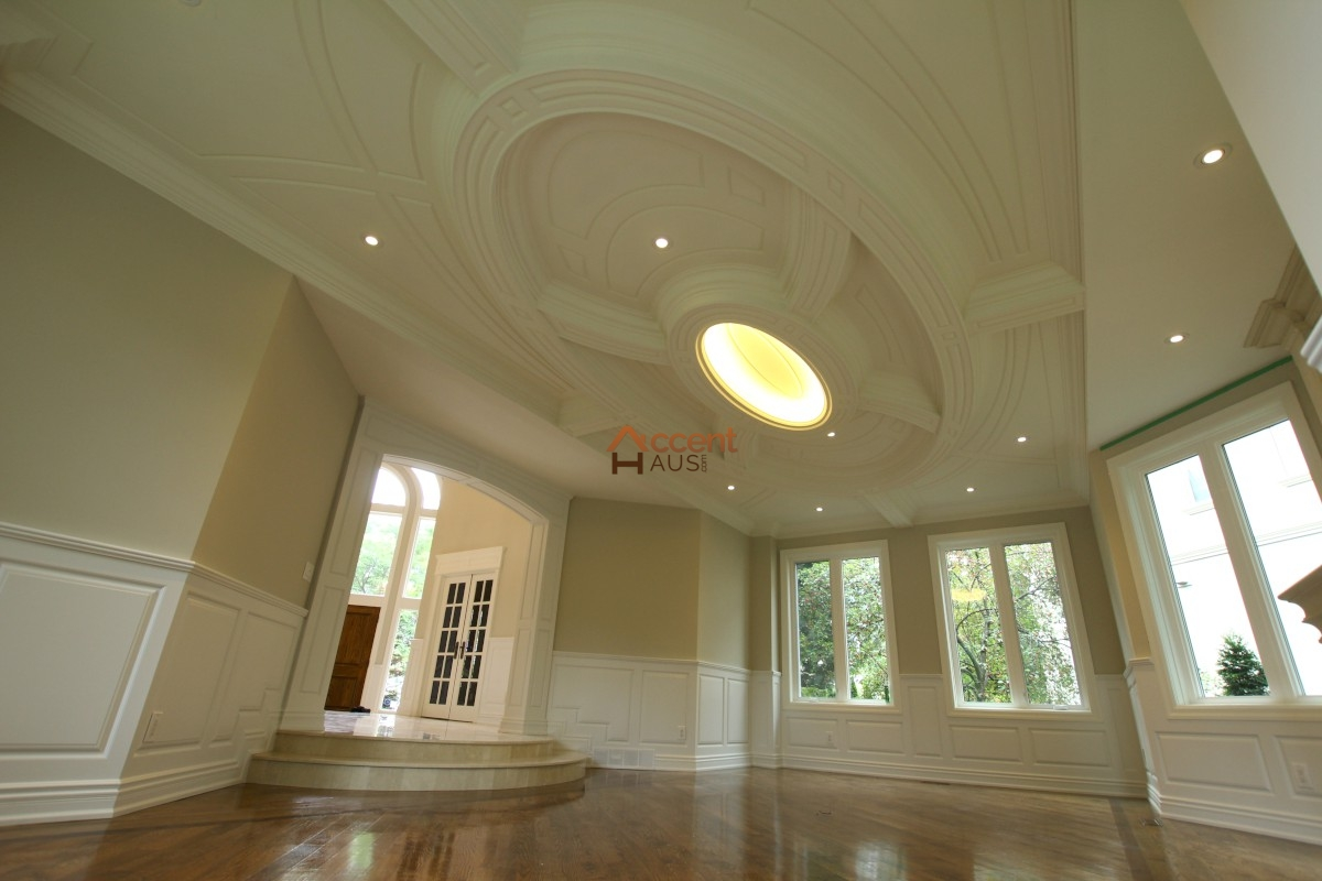 How to build a coffered ceiling - Flat Patterned Ceiling