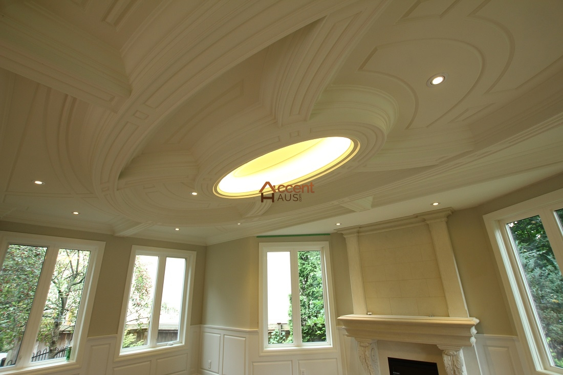 Coffered waffle ceiling beams ideas cost and pictures for Average cost of coffered ceiling