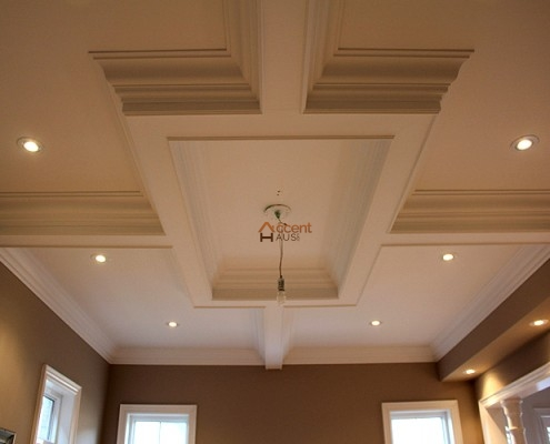 Rectangular tray ceiling designed in a house Vaughan