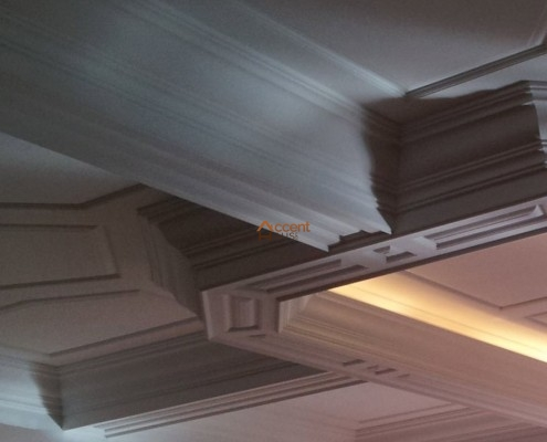 Classic octagon ceiling style