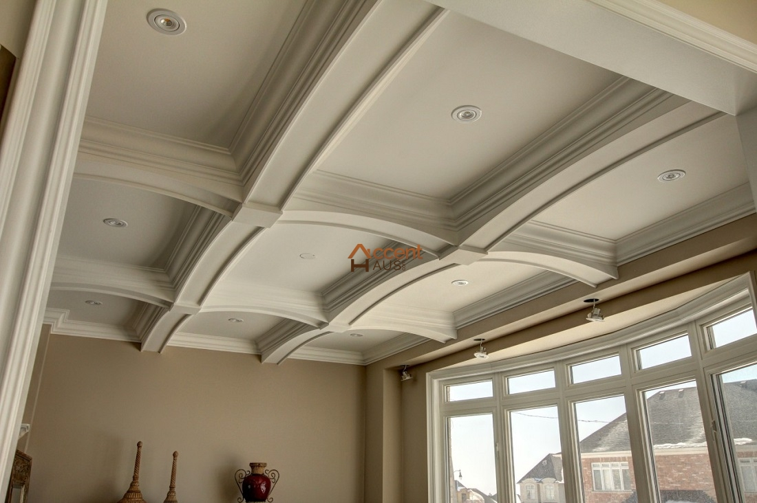 Coffered Waffle Ceiling Beams Ideas Cost And Pictures