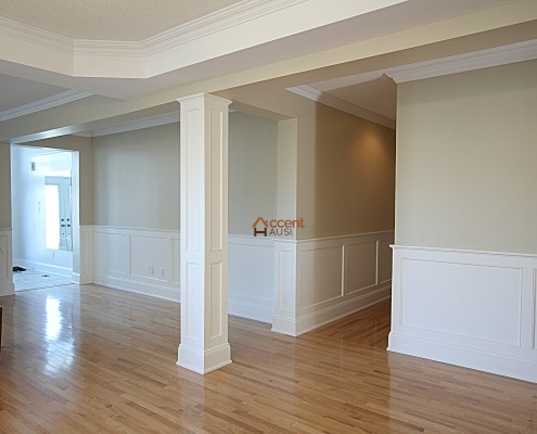 wainscoting wall panels beadboard ideas in rooms wood chair rail installation. Black Bedroom Furniture Sets. Home Design Ideas