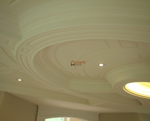 Modern oval ceiling style