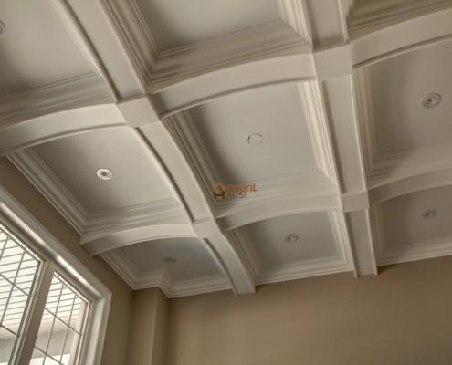 Family room interior ceiling