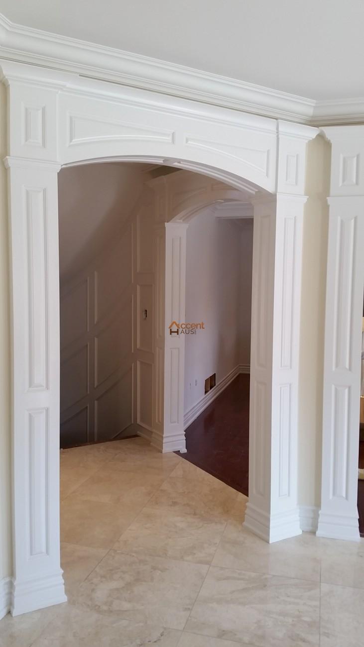 Archways Casement Millwork Headers Columns Accent Haus