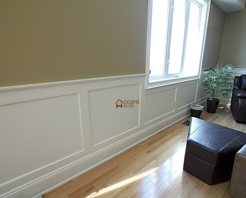 Wainscoting Wall Panels Beadboard Ideas In Rooms Wood Chair Rail Installation