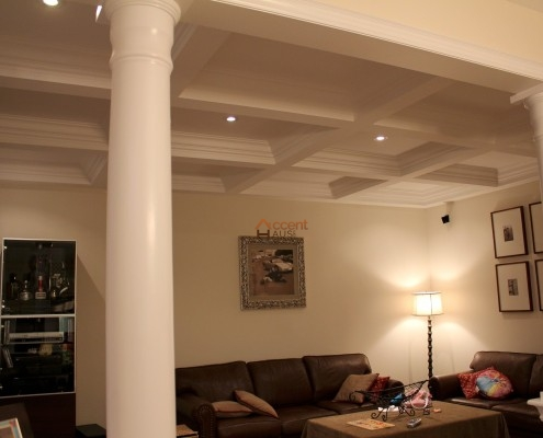 Contemporary ceiling installed in a home Thornhill